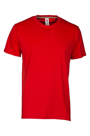 PAYPER sunset t-paita 1-väri silkkipainolla