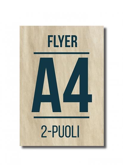 Flyer A4 2-puoli