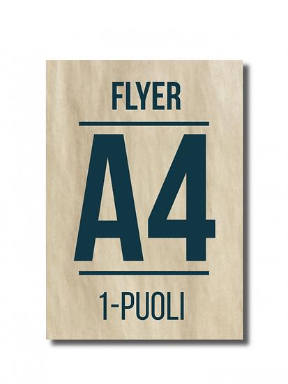 Flyer A4 1-puoli