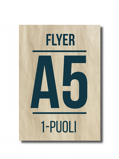 Flyer A5 1-puoli