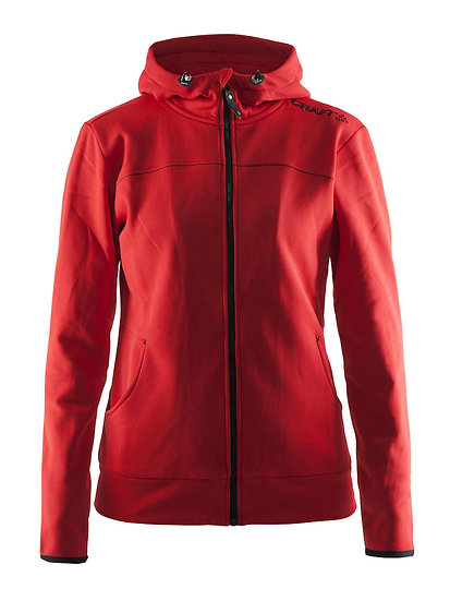 Leisure full zip hood, naisten
