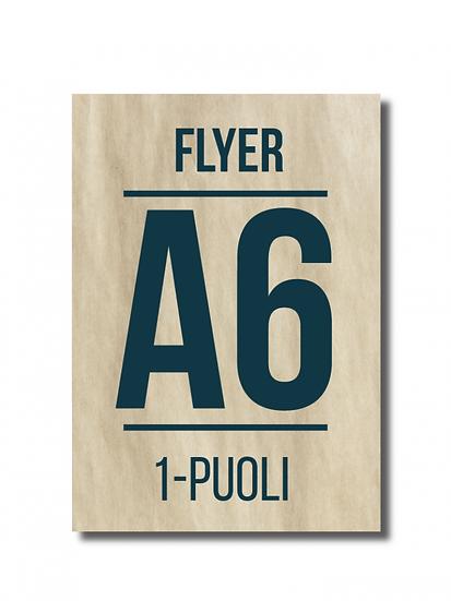 Flyer A6 1-puoli