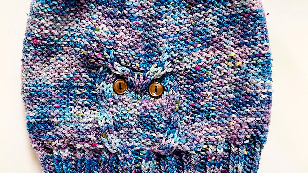 The AJ - Owl Cable Hat