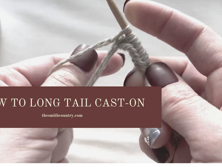 How to Long Tail Cast-On