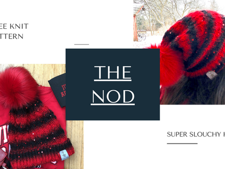 Free Pattern: The Nod (Extra Slouchy Hat)