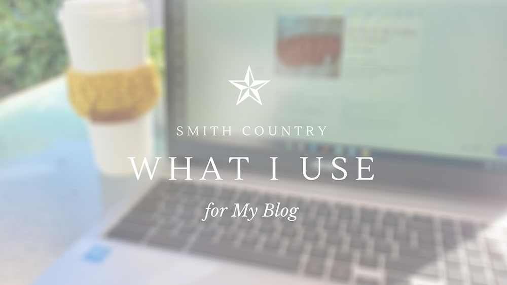 Image Banner: Smith Country - Programs I use for my Blog