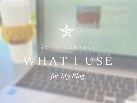 Programs & Sites I Use for My Blog