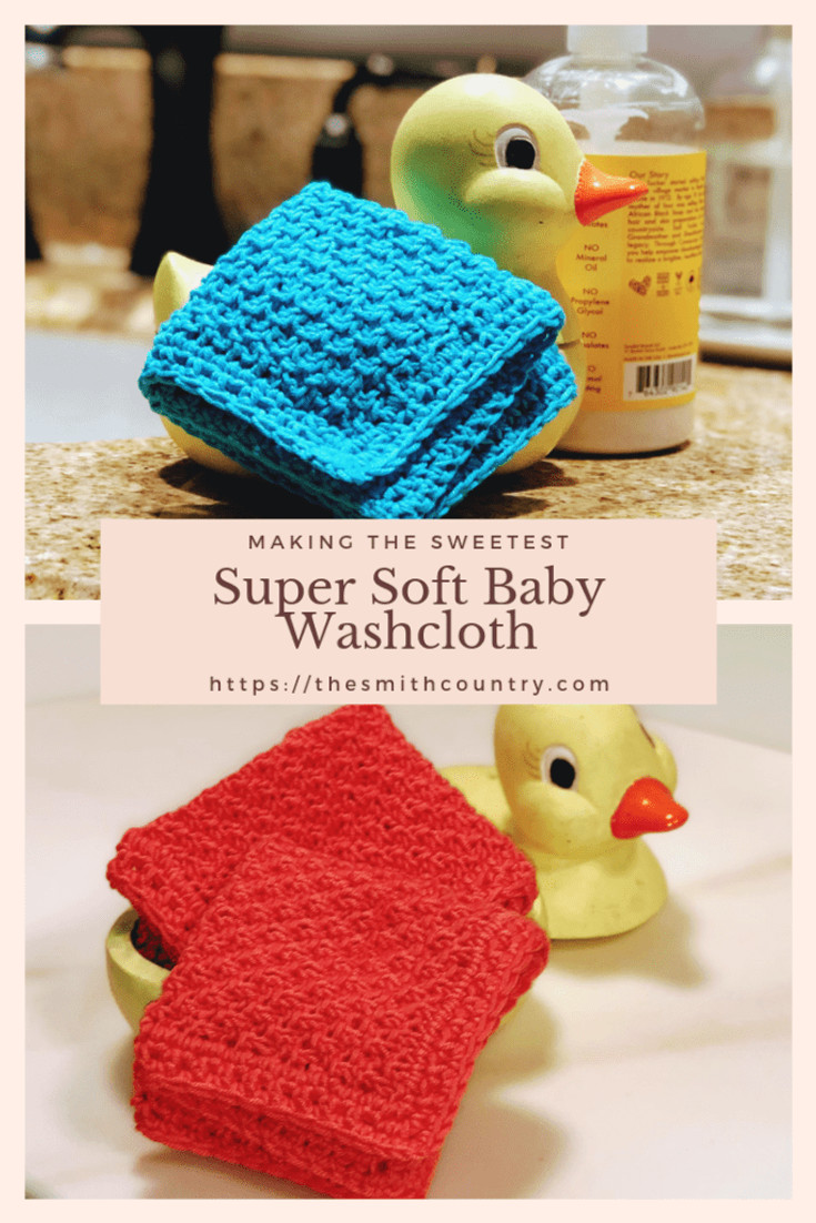 Free Pattern Super Soft Baby Washcloth