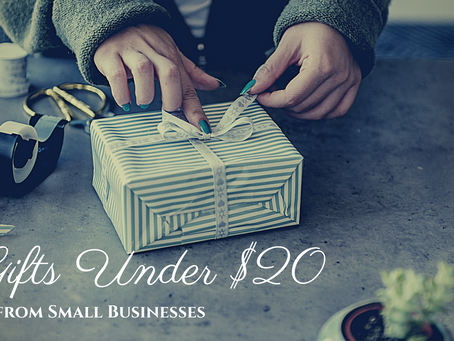 Gifts Under $20 from Small Businesses