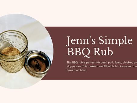 Jenn's Simple BBQ Rub