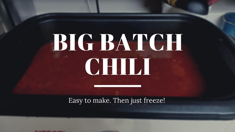 Big Batch Chili