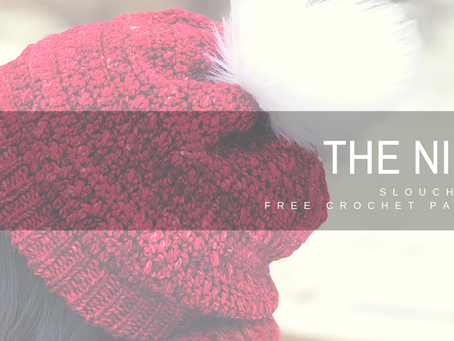 The Nikki (slouchy hat) Crochet Pattern