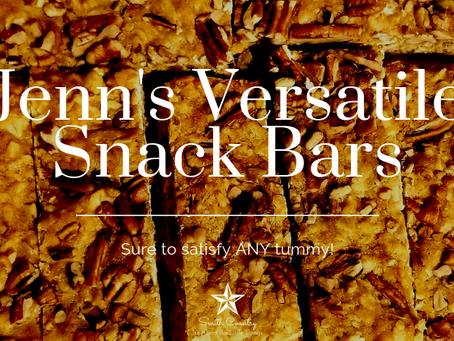 Jenn's Versatile Snack Bars