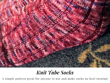 Pattern Review: Knit Tube Socks