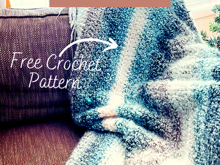 Free Pattern: The Cozy Hug Blanket