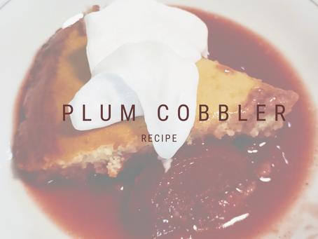 Plum Cobbler