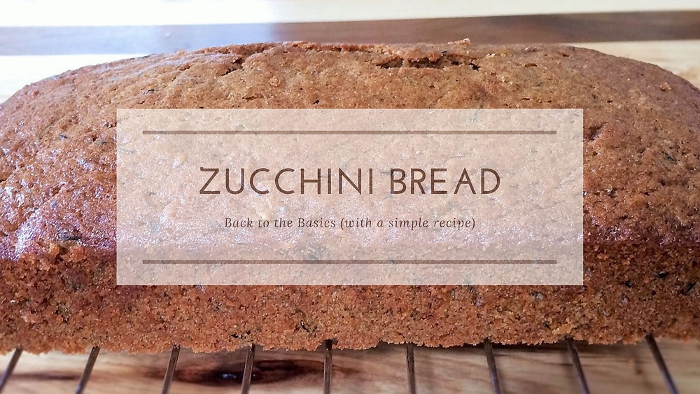 Header image with zucchini bread in background.