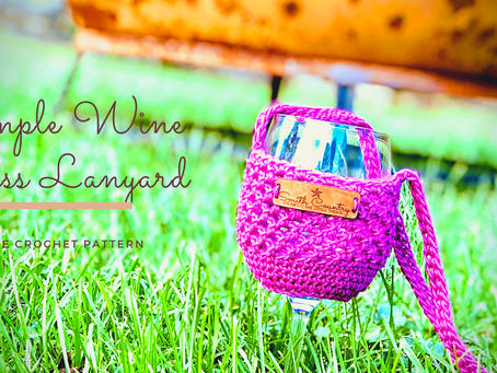Free Pattern: Simple Wine Glass Lanyard