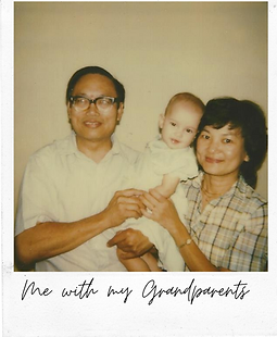 Me, Jenn Smith, with my Grandparents-Giam.
