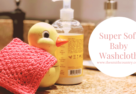 Free Pattern: Super Soft Baby Washcloth