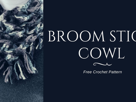 Free Pattern: Broom Stick Cowl