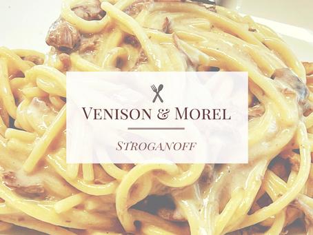 Venison and Morel Stroganoff