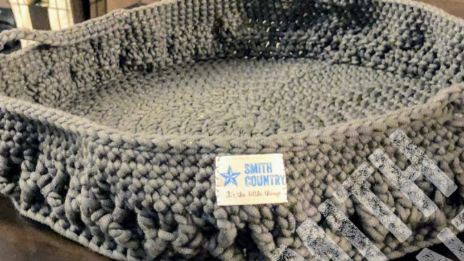 Large Tray/Basket Crochet Pattern