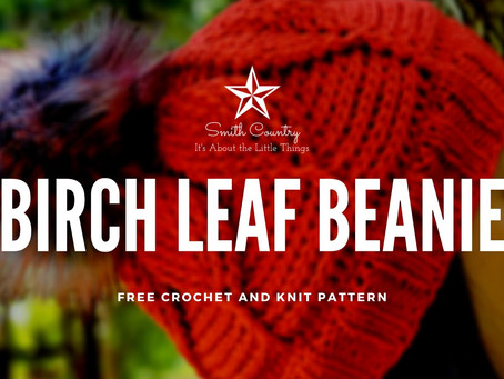 Free Pattern: The Birch Leaf Beanie