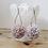 Thumbnail: J'adore le printemps Yarn Pom Pom Earrings