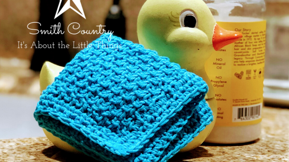 Super Soft Baby Washcloth Knit Pattern (no tags)