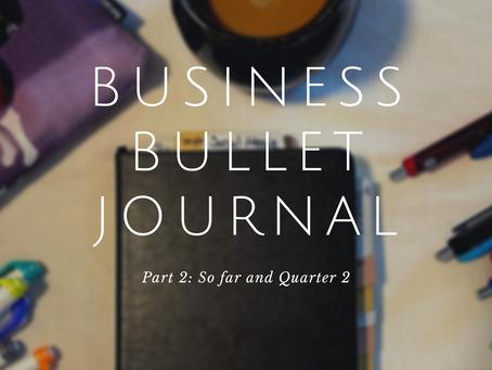 Bullet Journal 2021: Part 2