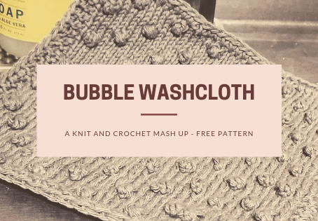 Free Pattern: Bubble Washcloth