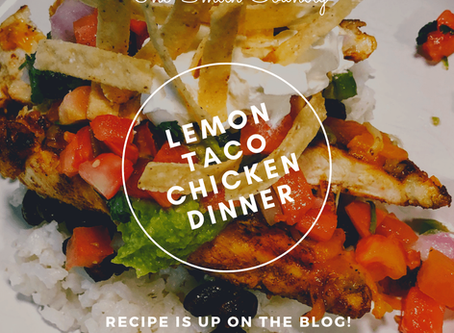 Lemon Chicken Taco Dinner