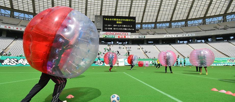 バブルサッカー 運動会 面白い バブッサル レクリエーション