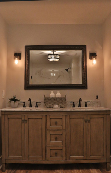 All New Double Sink Bath Vanity