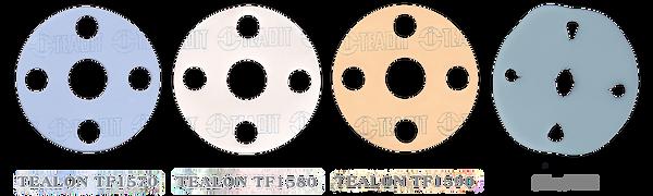 Tealon Gaskets showing Cold Flow Resistance