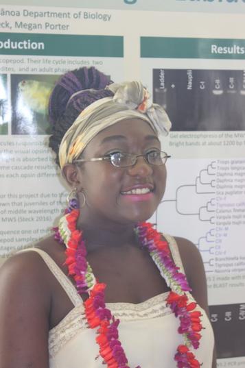 Summer 2016 REU Student Joins the Porter Lab!