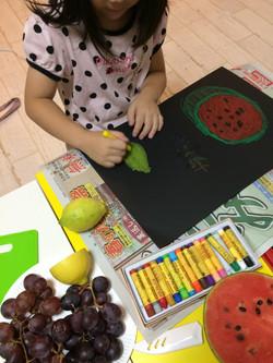 果物を描こう
