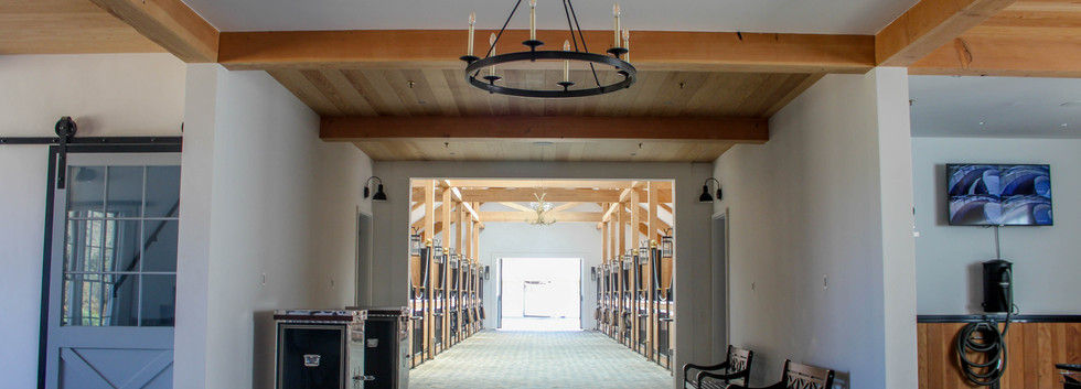 Q of E Farm - Home of Ingenium Farm Inside Barn