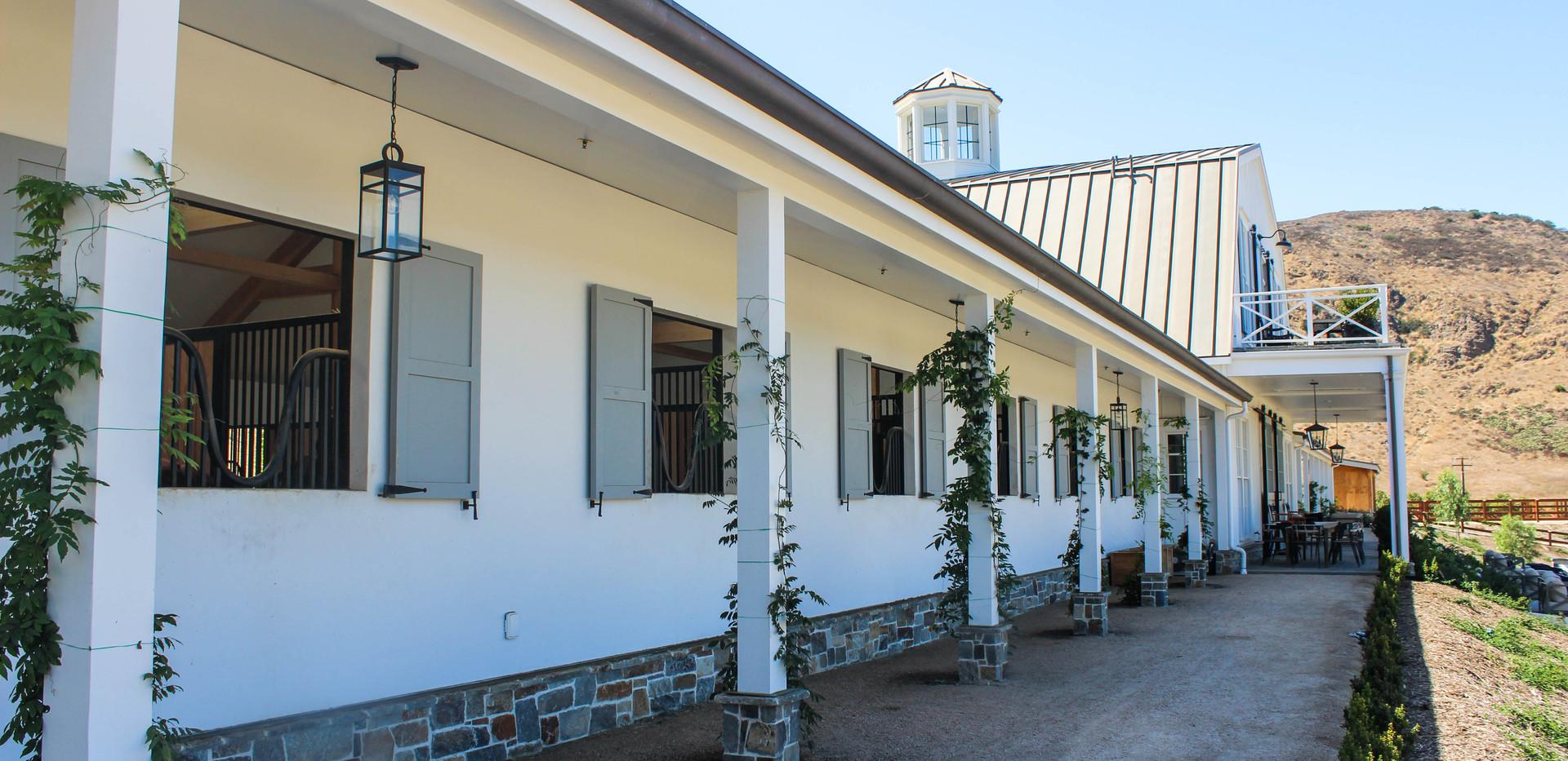 Q of E Farm - Home of Ingenium Farm - Stall Windows