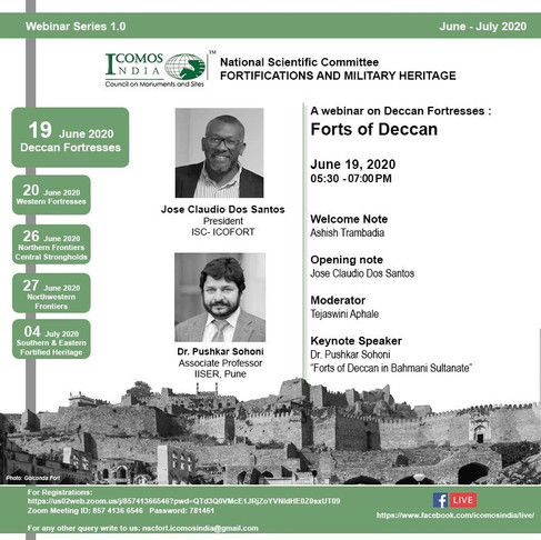 Webinar Series on Fortification and Militaruy Heritage in India
