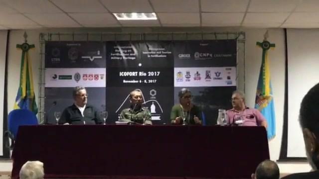 Plenária Final - Mesa de encerramento - Milagros Flores Román (Presidenta do ICOFORT)