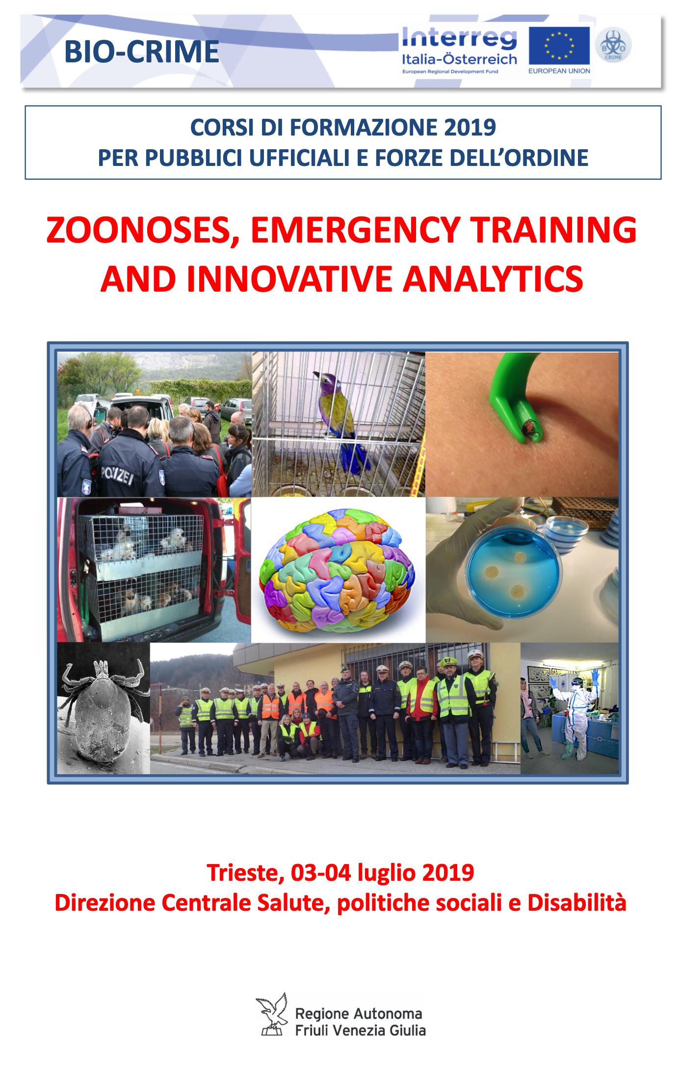 Bio-crime training course