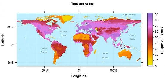 Zoonoses prevalence Han et al 2016