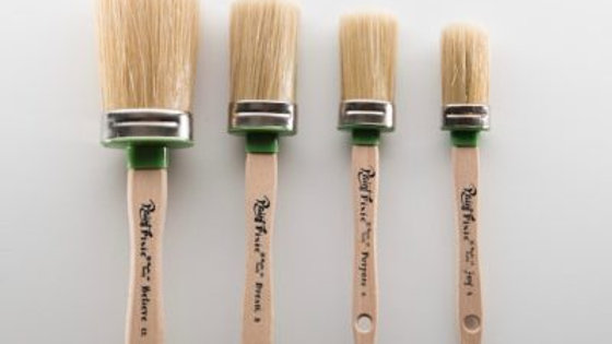 Oval Brushes (natural)