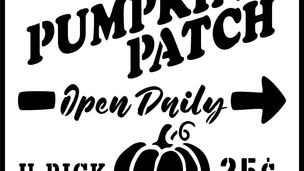 Pumpkin Patch Open Daily