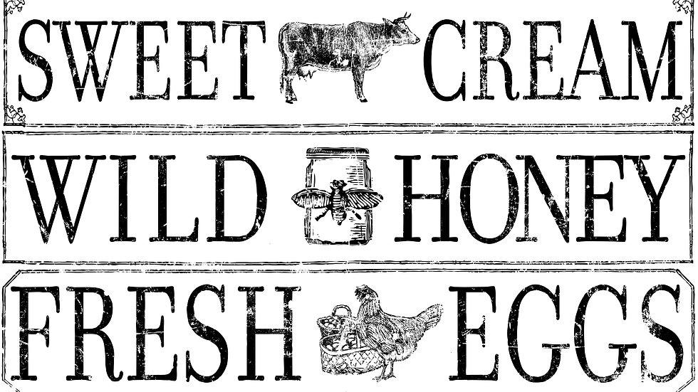 Farm Fresh Signage