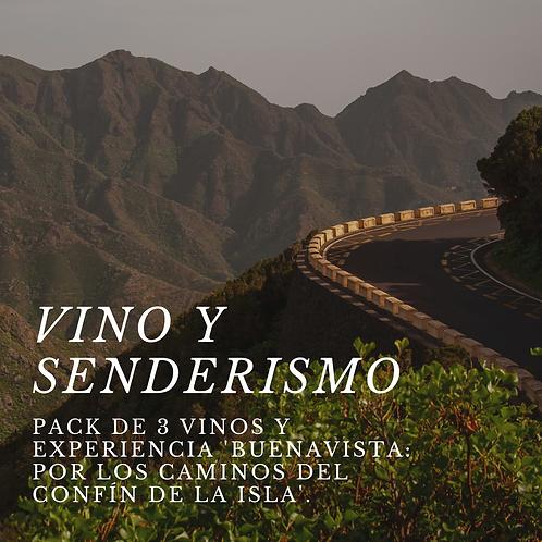 Vino y Senderismo: 3 vinos + Buenavista: los caminos del confín de la isla