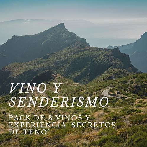 Vino y Senderismo: 3 vinos + Secretos de Teno