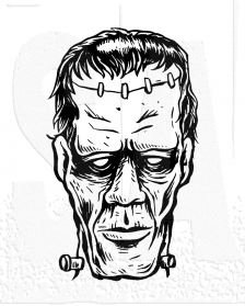 copy of Halloween - Tim Holtz Frankenstein